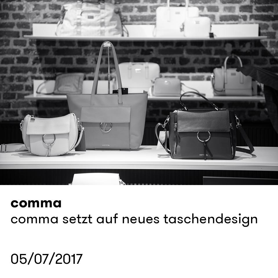 comma | comma setzt auf neue taschen